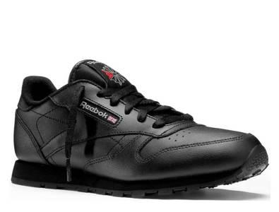 Buty Reebok Classic Leather Black Junior 50149