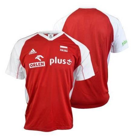 Koszulka Adidas MT VB FO MO JR S O04644-CZERWONA