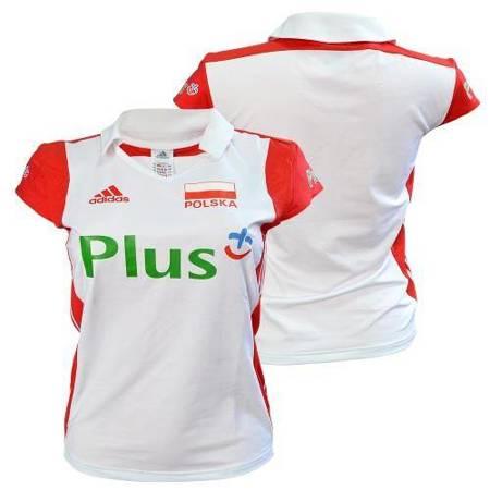 Koszulka kadry Polski siatkarek biała (E86438)
