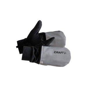 Rękawiczki Craft Hybrid Wheather Glove Czarno-Szare 1903014-926999